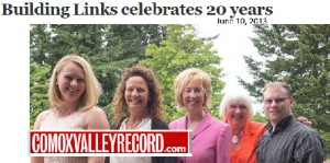 Building Links Celebrates 20 years