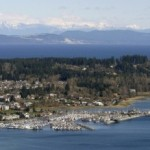 Comox Bay and Marina in the beautiful Comox Valley.