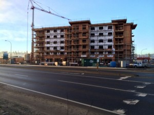 Construction in Campbell River