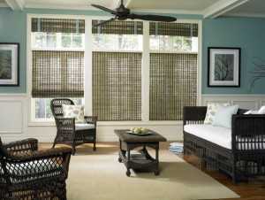 Eco-friendly shades from Budget Blinds on Vancouver Island.