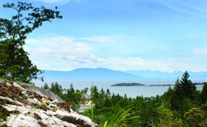 Spectacular ocean and mountain views at Fairwinds Golf Community in Nanaimo on Vancouver Island