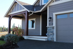 This new custom home was built by Lawmar Contracting at The Ridge in Courtenay on Vancouver Island