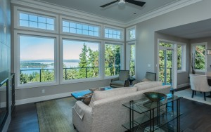 This luxury patio home for sale at The Gales offers ocean and mountain views.