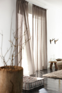 Drapes by Inspired Drapes from Budget Blinds can help make your home uniquely your own.