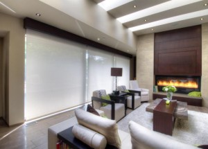 Solar Roller Shades from Budget Blinds can add energy efficiency and style to any room in your home.