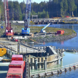 Around Town: Construction Report for John Hart Dam Generating Station Replacement Project
