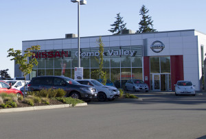 The Comox Valley Nissan is developing a five-acre site for two car dealerships and a recreational vehicle facility near Ryan Road.
