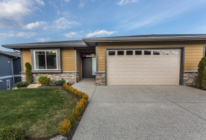 The new show home at The Gales in Ladysmith is a Built Green home with many energy efficient features.