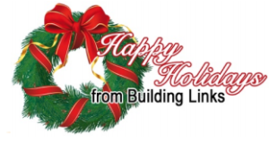 Building Links wishes you and your family a Merry Christmas and happy holiday season.