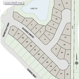 New Cul-de-Sac and Lake Side Lots Now Available at Crown Isle