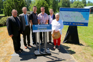 In June of last year, the provincial government announced a new 10-year transportation plan, including work to improve the connection between Highway 19 and north Courtenay.