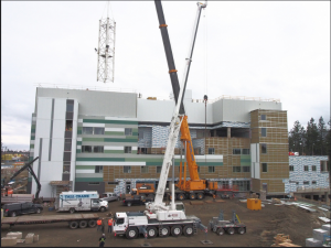 Both the Comox Valley and Campbell River hospitals have reached a construction milestone: the cranes have been disassembled. Come learn more at the next community information session.