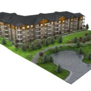 Editor's Note May 10, 2017: 71 unit residential building Riverstone  to be complete in August