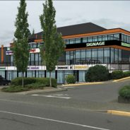 Editor's Note August 30, 2017: Renovation of the Comox Mall continues