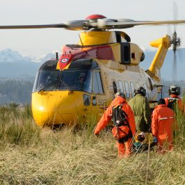Editor's Note: December 6, 2017: Site mobilization underway at 19 Wing Comox for new Search and Rescue Training Facility