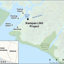 Around Town Kwispaa LNG project on hold