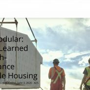 Going Modular: RDH Online Seminar in Around Town