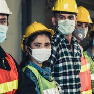 Mandatory masks in workplaces in Around Town