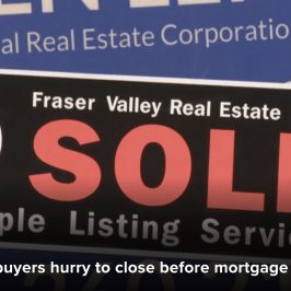 New mortgage stress test in Around Town