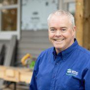Pat McKenna leaving Habitat Vancouver Island North in Around Town
