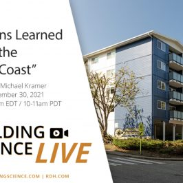 """Free RDH Seminar: Lessons Learned from the """"Wet Coast"""" in Around Town"""